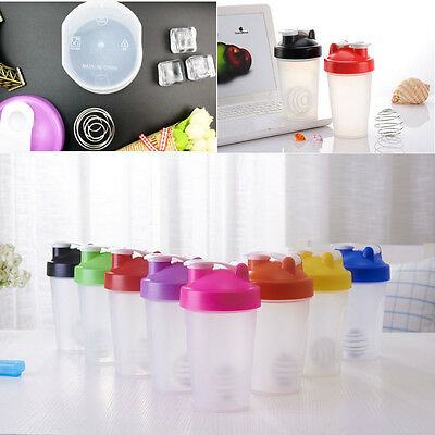400 ml Shake Gym Protein Shake Mixer Beverage Cup My Sport Camping Shaker Bottle