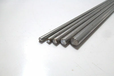 8643) Stainless Steel, Round Rod, V2A, 1.4301, Ø 4mm, ø 5mm, Ø 6mm and Ø 8mm