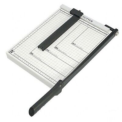 """PAPER CUTTER - 10"""" x 10"""" inch - METAL BASE TRIMMER NEW"""
