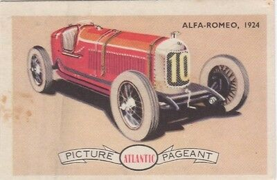 Atlantic - Racing Cars Alfa Romeo, 1924