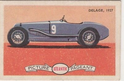 Atlantic - Racing Cars Delage, 1927