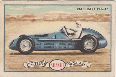 Atlantic - Racing Cars Maserati 1939-47