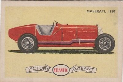 Atlantic - Racing Cars Maserati, 1930