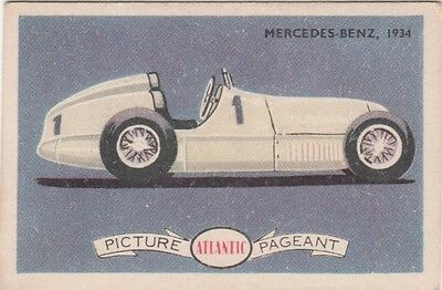 Atlantic - Racing Cars Mercedes Benz, 1934