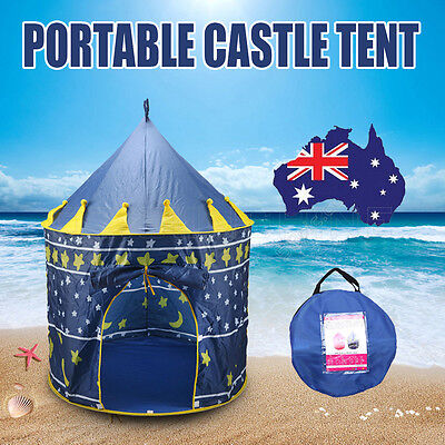 Children Kids Play Tent Castle Princess Playhouse Outdoor Indoor Gift Toy Party