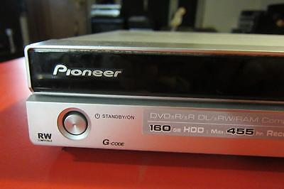 Pioneer Dvr-540H-S / Hdd-Dvd Recorder  (160 Gig) + Remote + Manual (Pdf)