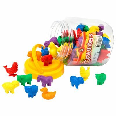 Learning Can Be Fun Animal Counters 72 Pack