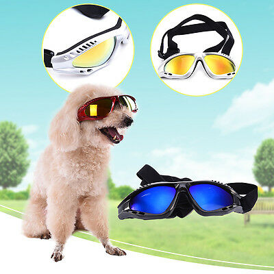 New COOL  Pet Dog Cat Anti-UV Sunglasses Eye Wear Protection Various Colours