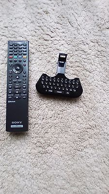 Sony BD Remote Control For PlayStation 3 Console + wireless mini PS3 key pad