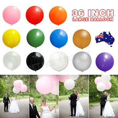 Latex 36 Inch 90cm Balloon 12 Colors Party Wedding Decoration OZ