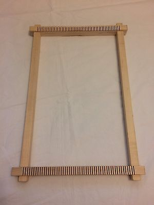 Maryanne Moodie Tapestry Weaving Frame Loom and Purl Soho Fibres Weaving Pack