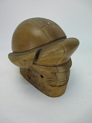 Antique Vintage Wood Millinery Set Hat Form
