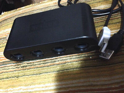 GameCube Controller Adapter for Wii U & PC USB - NEXiLUX gc Nintendo Wiiu