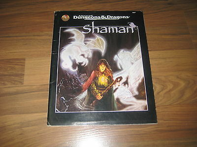 AD&D 2nd Edition Shaman Game Accessory Softcover TSR 9507 englisch 1995