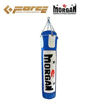 6 ft/180cm MORGAN Muay Thai/Boxing UNFILLED MMA UFC Heavy Punch Bag Blue