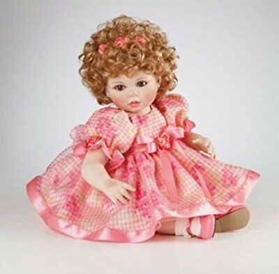 "Marie Osmond Spring Fever Full Size 12"" Doll Porcelain Doll New NRFB"