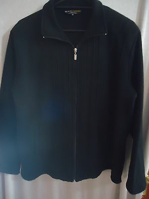 Black Pepper Jacket / Zip Up Cardigan Ladies Size 16