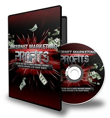 Internet Marketing Profits. EBook and Training Videos on CD. Free Postage!