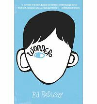 Wonder by R. J. Palacio (Author) [Hardcover] BRAND NEW FREE SHIPPING