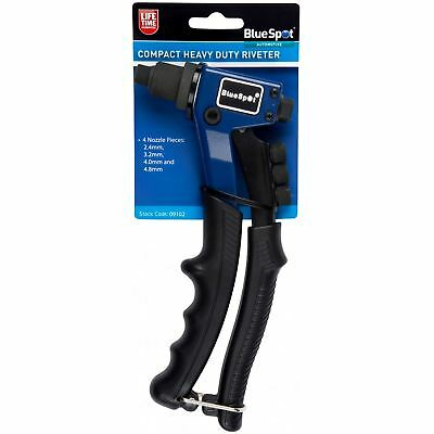 BlueSpot 200mm Hand Riveting Tool Compact Rivet Gun Pop Riveter 2.4-4.8mm 09102