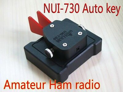 New Uni-730A CW Morse code Keys Telegraph Automatic Paddle Keyer for Radio Ham