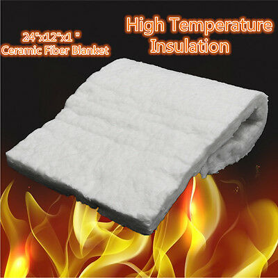 "24""x12""x1"" Ceramic Fiber Blanket High Temperature Insulation Aluminum Silicate"