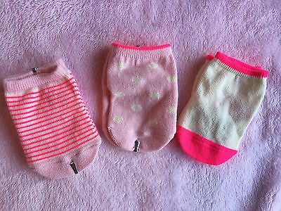 Country Road Baby Girl Socks, Various Colours, Size 0-3 Month