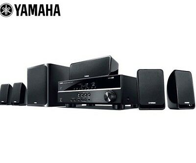 Yamaha Yht-1810 Home Theatre System W/5.1 Speakers-Black
