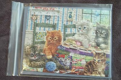 Let's Get Started  Cat 100 Piece Jigsaw Puzzle
