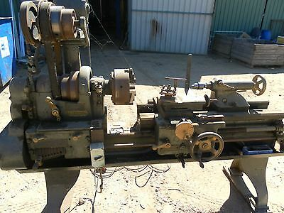 Harrison Metal lathe 3 phase 40mm bore 1000mm bed