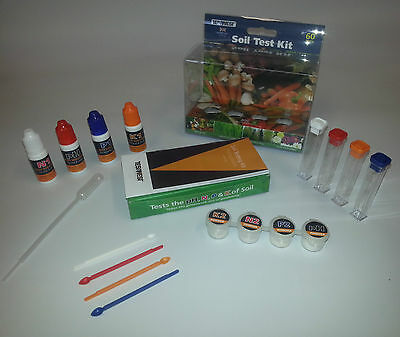 Soil Testing Kit,  For pH, N, P & K. soil tester,  - 40 tests PH Tester pH test