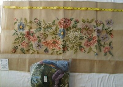 Madeira Trammed Floral Tapestry kit (includes wool)