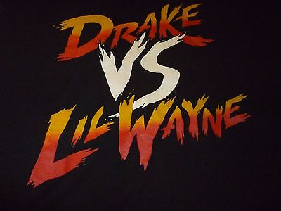 Drake Vs Lil Wayne Tour Shirt ( Used Size XL ) Good Condition!!!