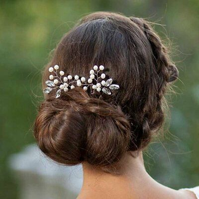 Venusvi Wedding Hair Pins for Bride- Bridal Hair Accessories for and Flower #6IY