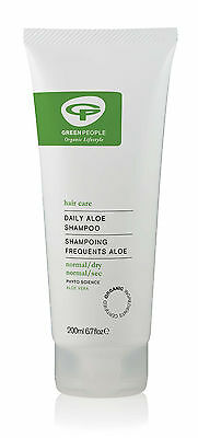 Green People Daily Aloe Shampoo Now With Lavender 200Ml