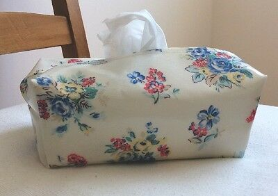 Hand Made Oilcloth Baby Wipes Holders/case Cath Kidston  Highgate Rose