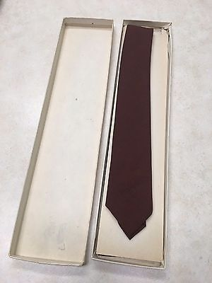 Official Boy Scout Necktie in Box - #839 Brown