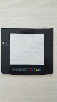 Vitre remplacement Nintendo gameboy color / Screen glass for GBC
