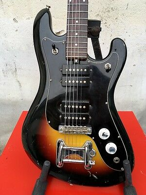 Eko Cobra IV 4 Pickups Vintage Made in Italy 1965 Electric Guitar Solid Body