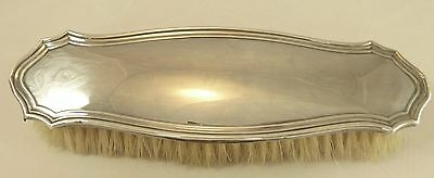 Antique Sterling Silver Mounted Clothes Brush Hallmarked Birmingham 1922