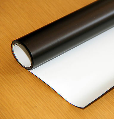 "Magnetic Car sign material sheet roll 22""x51.5"" 15 mil NEW Dry Eraze"
