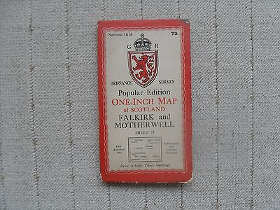 1945 OS Map - Falkirk and Motherwell