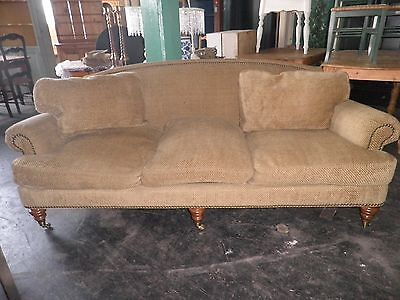 Lillian August Sofa, Walnut Framed Couch, Sofa, Fabulous Sofa, Couch 314AA