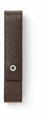 Graf von Faber-Castell Pen Case For One Pen - Epsom Dark Brown - 118865