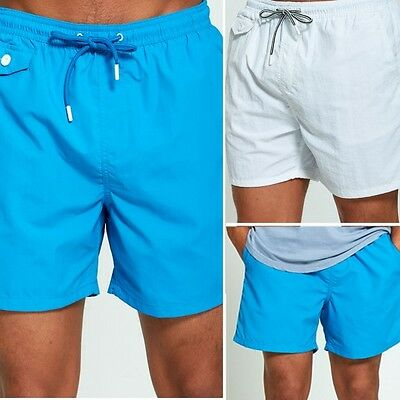 New Mens Swimwear Swimming Shorts Summer Holiday Skateboard Swim Shorts S-XL