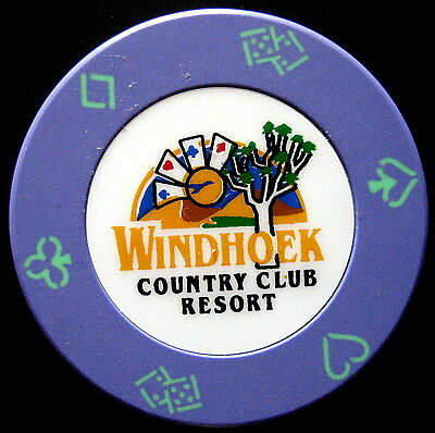 d CASINO WINDHOEK COUNTRY CLUB RESORT NAMIBIA  2 CHIP (#263/4)