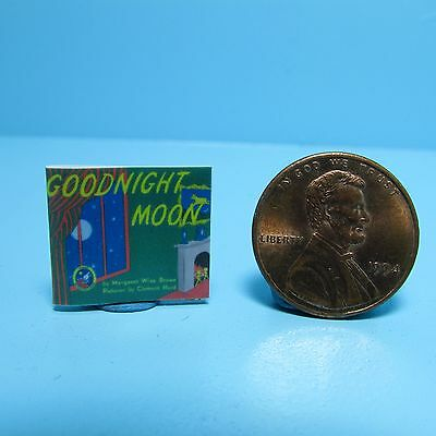 Dollhouse Miniature Replica of Book Goodnight Moon ~ B150