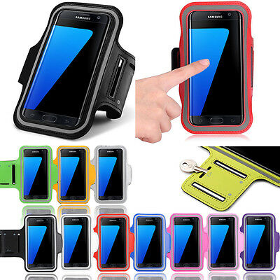 Sports Running Jogging Gym Armband Case Holder for Samsung Galaxy S7 Edge Plus