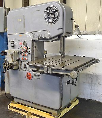 "Doall #mp-20 20"" Vertical Band Saw"
