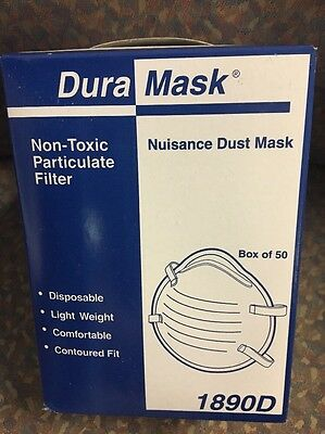 1890D Nuisance DURA Dust MASK, New - 50 in a box